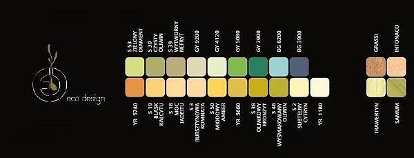 Paleta kolorów Trend Eko